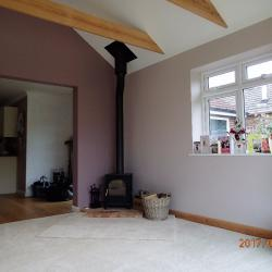 Anything is possible, a new wood burner can make a big difference to an extension
