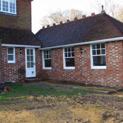 Extension built onto a Listed building