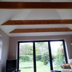 Extension with new beams