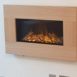 Modern Wall Mounted Fire Places